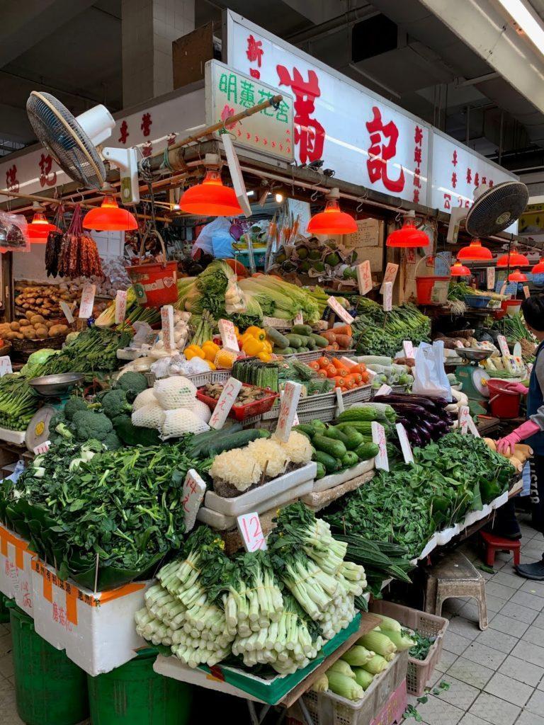 Stadtleben Hongkong